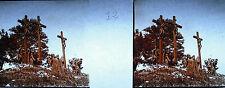 Photographie c1920 Chemin de croix des Espélugues Mort de Jésus Christ vers 1920