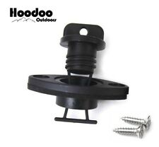 Hoodoo Outdoors Drain Plug and Receiver Kit - Kayak - Boat - Outdoors - Canoe