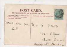 Miss G Jessup Post Office Batts Corner Farnham Surrey 1904 533a