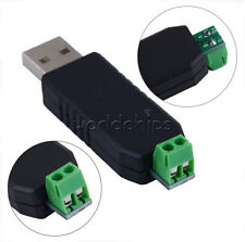 2Pcs Ch340 Usb to Rs485 Usb-485 Converter Adapter For Win7 Xp Vista Linux Mac Os