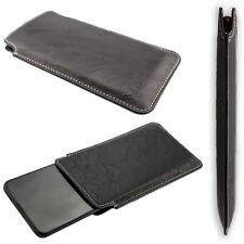 caseroxx Business-Line Case voor Samsung Galaxy M30S in black gemaakt van faux l