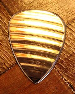 Bronze Cymbal Guitar Pick + Fender Telecaster Stratocaster Neck Tele Strat ART