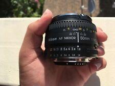 Nikon AF NIKKOR 50mm f/1.8D Prime Lens