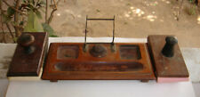 New listing India Rare - Table Decoration Item - Ink Pot , Pen & Allpin Stand + 2 Ink Dryer