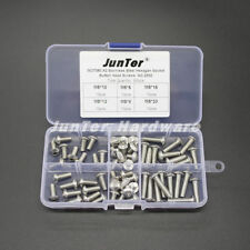 High quality 60pcs M5(5mm) A2 Stainless Steel Button Head Hex Socket Screws Kit