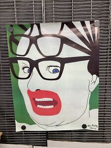 Michael Alig Club Kid Signed & Numbered Poster Leigh Bowery 2013 031/225