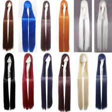 12 Colors 150CM Long Straight Wig Synthetic Cosplay Charms Wigs For Women Gift