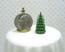 """Dollhouse Miniature 3/4"""" Tall Tabletop Woodchip Tree  from Silvia Leiner"""