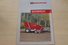 158897) kongskilde stonebear sb 4000 5200 piedra coleccionista folleto 10/2005