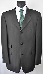 HUGO BOSS Blazer men UK 44L Wool Pinstriped Sport Coat Suit Jacket EU 54L De 106