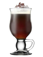 6 x Kaffeglas Cappuccino Latte Macchiato Tassen Glas Tee TOP ANGEBOT!