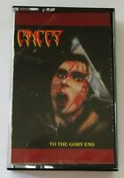 Cancer To The Gory End 1990 Cassette Tape Death Thrash Metal Silent Scream