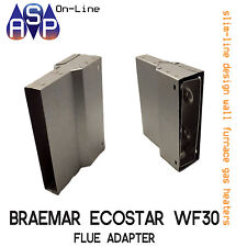 FLUE ADAPTER BRAEMAR WALL FURNACE (079981)