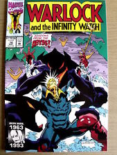 Warlock and the Infinity Watch n°16 1993  ed. Marvel Comics  [G.219]