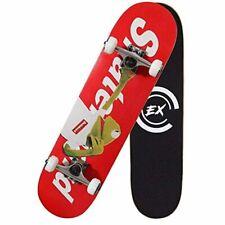 Thmex Pro Skateboard Standard Skateboards Cruiser Complete Canadian Maple 8 Laye