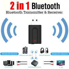 2in1 Mini Bluetooth v5.0 Dongle Plug and Play for PC Support Windows 10 8.1Vista