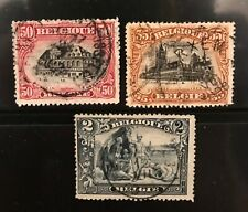 Belgium postage stamps including anti slavery              Ma