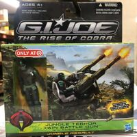G.I. Joe Rise Of Cobrat Jungle Terror Twin Battle Gun W/ Range-Viper NISB NEW