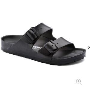 NEW Birkenstock Arizona EVA Unisex Narrow Fit Double Strap Buckle Sandals SZ 41