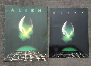 ALIEN 1979 Original Movie 16pg Booklet + Movie Premiere Program 1979 ORIGINALS!