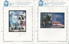 Grenada Collection, John F. Kennedy Mint NH Stamps & Sheets, 10 Pages (B)