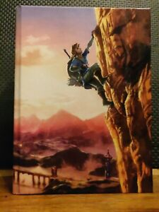 The Legend of Zelda BOTW Official Guide Collectors Ed. w/ fold out poster/map
