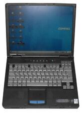 NOTEBOOK COMPAQ ARMADA E500 INTEL PENTIUM III 600 LAPTOP WINDOWS 98 DOS COM PORT