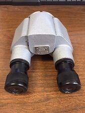 Carl Zeiss Straight Binocular, model F=160 w/ two 12.5X Eye Pieces. NO RESERVE.