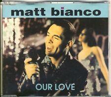 MATT BIANCO - our love  5 trk MAXI CD ZYX