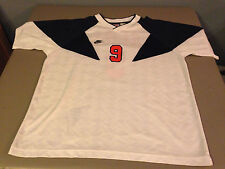 Nike PREMIER Soccer Polo Jersey Team Issue #9 Soccer Jersey VINTAGE LARGE