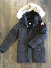 NEW Canada Goose Langford Parka/Jacket Black Men's Small Fur Trim