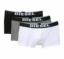 NWT Diesel Rocco. Sz XL. Men 3 Pack. Cotton, Trunk. Black/White/Grey. MRSP$39.00