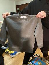 Boys Zara Crewneck Gray Size 6