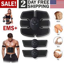Electric Muscle Toner EMS Machine Wireless Toning Belt 6 Six Pack Abs Fat Burner