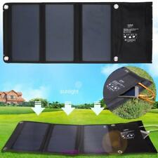 Vodool 21W Portable Folding Backpack Solar Panel 2 USB Charger For Phone Travel