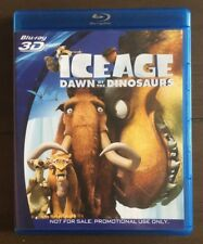 Ice age dawn of the dinosaurs blu ray 3D Promotional Panasonic Pre-owned