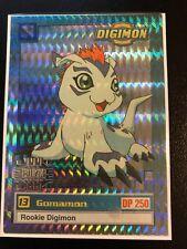 Gomamon Digimon Card Animated Series I Super Rare Exclusive Preview(1st ed)