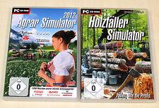 PC SPIELE SAMMLUNG AGRAR HOLZFÄLLER SIMULATOR 2012 - landwirtschafts ---- (2014)