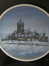 Rosenthal Classic Rose 1976 Burg Cochem Entwurf Helmut Drexter Annual Plate