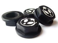 UberRC Enclosed Wheel Nuts x4 - Black For HPI KM Baja 5B 5T 001 2.0 Upgrade