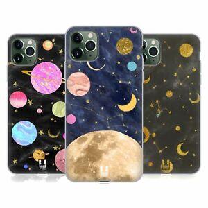 HEAD CASE DESIGNS MARBLE GALAXY GEL CASE & WALLPAPER FOR APPLE iPHONE PHONES