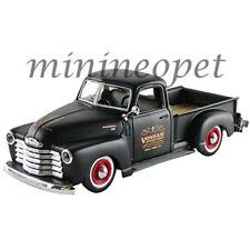MAISTO 32506 OUTLAWS 1950 CHEVROLET 3100 PICK UP TRUCK 1/25 DIECAST MATTE BLACK