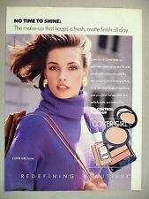 Cover Girl Make-up PRINT AD - 1990 ~ Famke Janssen