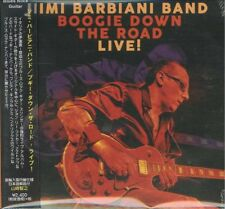 JIMI BARBIANI BAND-BOOGIE DOWN THE ROAD - LIVE!-IMPORT CD WITH JAPAN OBI F30