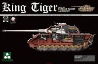 Takom 2046 1/35 Sd.Kfz.182 King Tiger Turret w/Zimmerit Hot