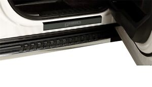 "Putco FORD BLACK PLATINUM DOOR SILLS w/ ""F150"" Etching (2 pcs) For 15-19 F-150"