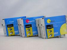 T126 C M Y Inkjet for Epson Stylus NX430 NX330 WF845 WF645 WF635 630 WF545 6pK
