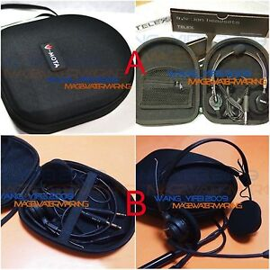 Generic Hard Carry Case Box Bag For TELEX AIRMAN 750 760 850 Aviation Headsets