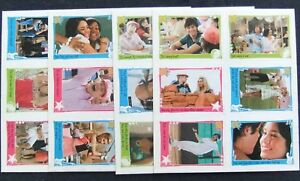 TOPPS High School Musical 2 - 4x Perforated Sheets RARE