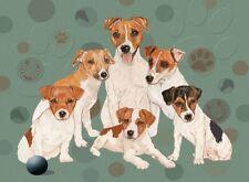 Jack Russell Terrier Blank Note Card